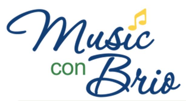 Music con Brio Logo